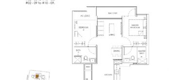 mont-botanik-residence-2-bedroom-floor-plan-a1-singapore