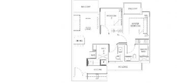 mont-botanik-residence-2-bedroom-floor-plan-a3-singapore