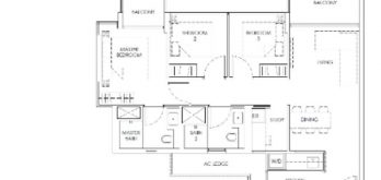 mont-botanik-residence-3-bedroom-plus-study-floor-plan-b1-singapore